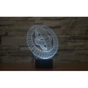 3D Лампа - Абстракция 2
