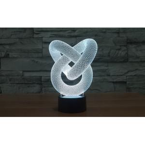 3D Лампа - Абстракция 6