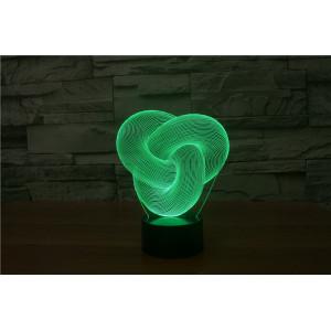 3D Лампа - Абстракция изгиб