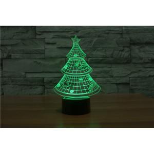 3D Лампа - Новогодняя Ёлка