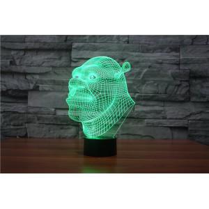 3D Лампа - Шрек