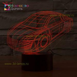 3D Лампа - Audi R8 V12 (ауди)